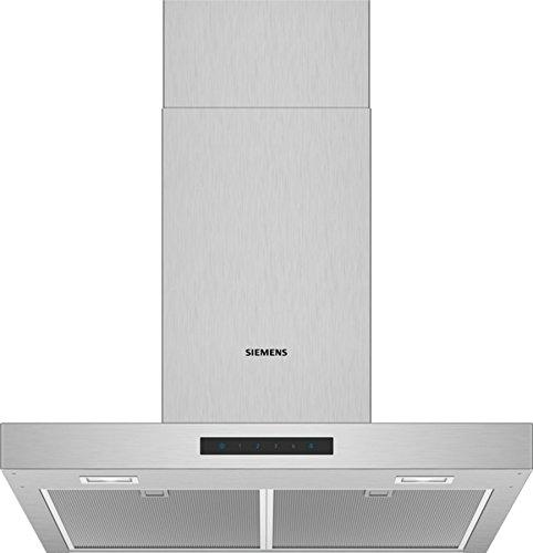 Siemens LC66BBM50 Dunstabzugshaube/Wandhaube / 60 cm/Elektronische Steuerung/Metall-Fettfilter/Edelstahl