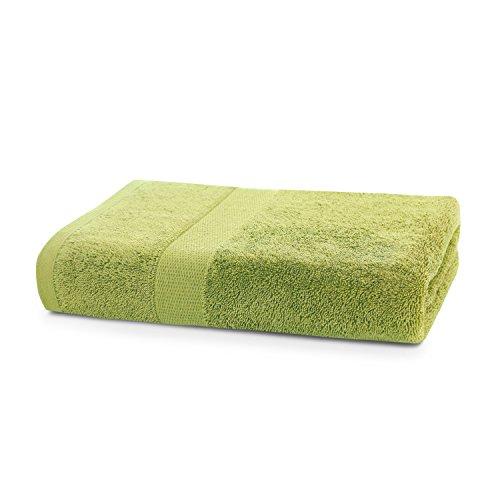 Badetuch 70x140 cm Baumwolle Qualität 525g/m² seladongrün grün Duschtuch saugfähig Marina