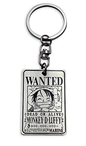 Llavero One Piece - Wanted Luffy