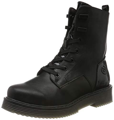 bugatti Damen 431549555057 Stiefeletten, Schwarz Black 1010, 38 EU