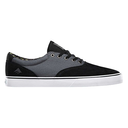 Emerica Provost Slim Vulc, Skateboard homme Nero/grigio / bianco