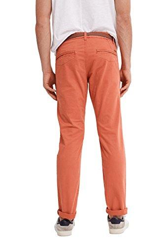 edc by Esprit 017cc2b009, Pantalon Homme Rouge (Red)