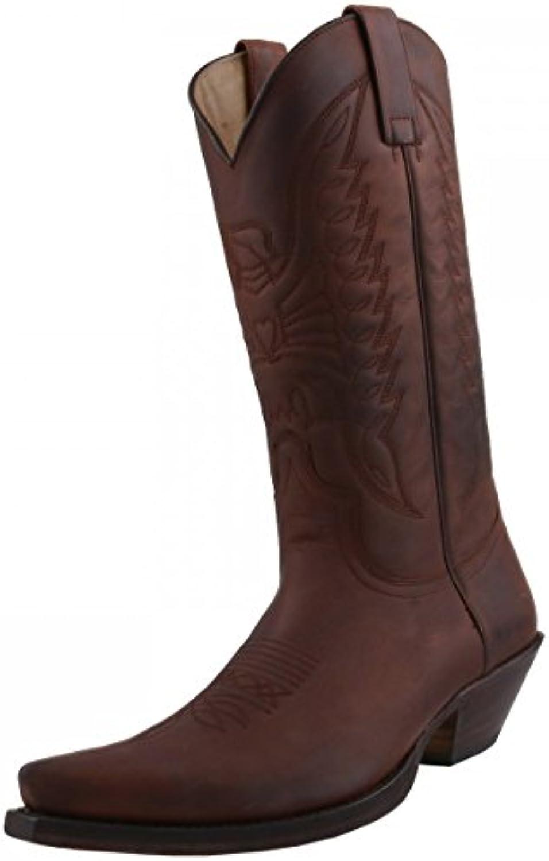 Sendra Boots Cowboystiefel 2073 Braun  Billig und erschwinglich Im Verkauf