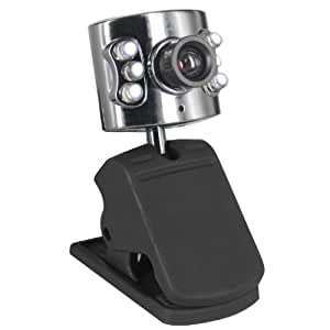 TRIXES Webcam with Microphone for XP Vista PC Laptop MSN Skype