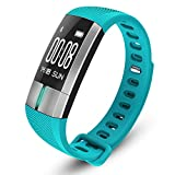 SportArts Fitness Tracker Pulsmesser Wasserdichtes Fitness-Armband Mit 10 Funktionen Und