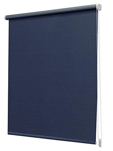 Intensions Opaco N.144 Estor Enrollable, Tela, Azul Oscuro, 120 x 190 cm