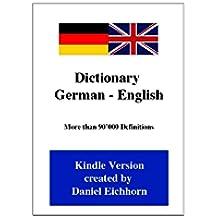 Dictionary German - English (German Edition)