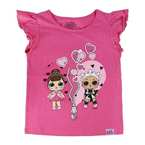 L.O.L. Surprise ! Camiseta para niñas con Las muñecas LOL Rocker, BFF Fancy & Fresh, Diva, M.C Swag...