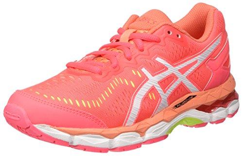 Asics Kinder-Unisex Gel-Kayano 23 Gs Laufschuhe für Das Training auf Der Straße Pink (Diva Pink/white/flash Coral)