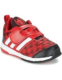 36e46978a32 ADIDAS PERFORMANCE Marvel Spider-Man C Zapatillas Moda Chicos Rojo  Zapatillas Bajas