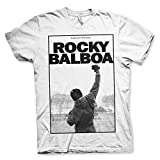 Rocky Balboa T-Shirt Ain't Over 'til It's Over Trikot Weiß - Original Offiziel (X-Large)