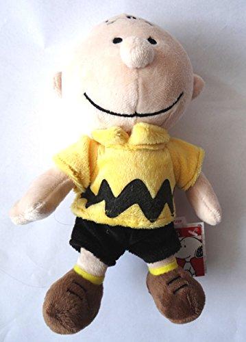 Peanuts Charlie Brown Plüsch ca. 17 cm sitzend (Charlie Brown Plüsch-spielzeug)