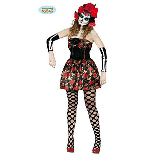 Imagen de disfraz de catrina mexicana para mujer  m