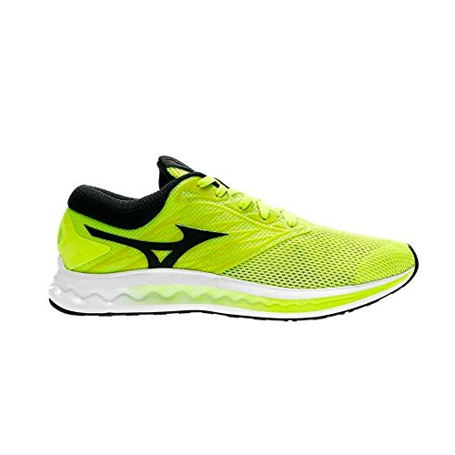Mizuno Shoe Wave Polaris Scarpa Running Uomo Taglie : 43 Colore : SafetyYellow/Black/White 02