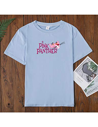 Klasse Damen Light T-shirt (LKJI T-Shirt Der Frauen Sommer T-Shirt-Klasse Mit Rundkragen Und Kurzarmblusen Für Entspannte Paare)