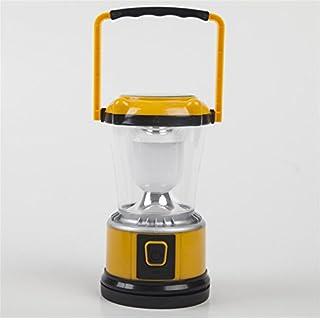 ZYPMM Outdoor-Camping Zeltlager Laterne Lampe Licht Camping Licht Solar-wiederaufladbare tragbare Camping-Beleuchtung Voraussetzung ( Color : Gelb )