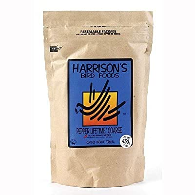 Harrisons Pepper Lifetime Coarse - Complete Parrot Food from Harrison's