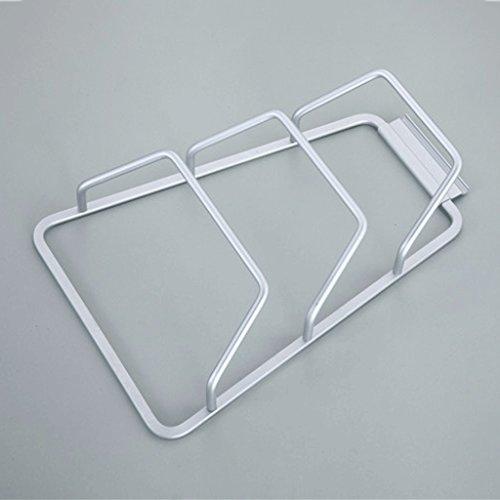 m-Topf-Abdeckung, mit Wasser-Tray Wand-Hänge-Rack, drei Mehrzweck-Küche Rack ,, Apply To Toiletries Metall Regale für Badezimmer, Küche, Balkon (Wasser Tray)