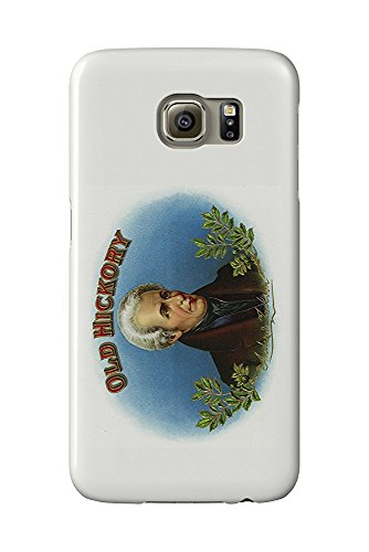 Old Hickory Brand Cigar Box Label - Andrew Jackson (Galaxy S6 Cell Phone Case, Slim Barely There)