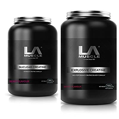 LA Muscle Extreme Creatine Stack RRP £130. Yours for just £80 from LA Muscle