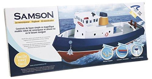 Preisvergleich Produktbild Artesania Latina 30530 - Schlepper Samson Build und Navi, Wasserfahrzeuge