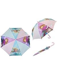 WD17493 Paraguas 57 cm para niña con motivo de Frozen Disney Ana ...