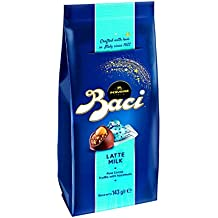 Pack Especial Regalo Baci Perugina - Bolsa de Bombones Italianos de Chocolate con Leche - 6