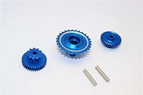 Kyosho Motorcycle NSR500 Upgrade Pièces Aluminium Wheel Gear Assembly (52T53T55T) - 3Pcs Set Blue | Vendant Bien Partout Dans Le Monde