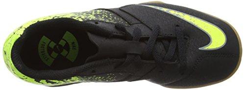Nike Jungen Jr Bombax Ic Fußballschuhe Black (Schwarz / Grau-Volt)