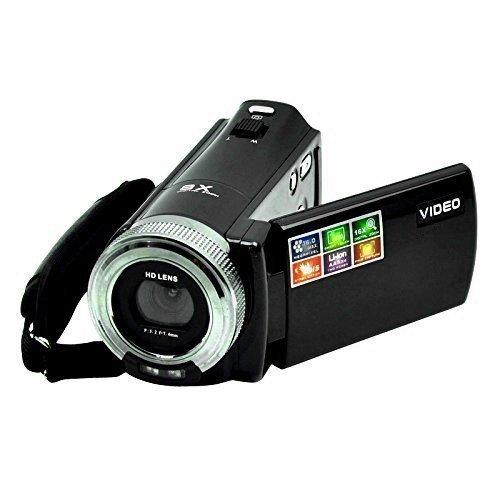 Video Camcorder Stoga DV Kamera LCD C8 16MP Hochauflösungs-Digital-Recorder Video-Camcorder 16x Zoom HD Videorecorder Kamera 1280 x 720p Videokamera-Schwarz