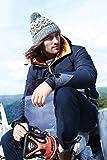 ASVP Shop Corkscrew Cable Knitted Bobble Hat Plain Mens Womens Beanie Warm Winter Pom Wooly Cap