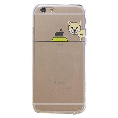 keyihan-iphone-6s-funda-iphone-6-carcasa-perro-lindo-patron-suave-tpu-silicona-transparente-ultra-de