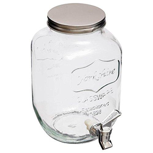 Distributeur de boisson en verre 4L