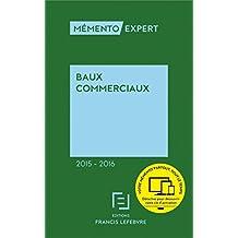 Mémento Baux commerciaux 2015-2016
