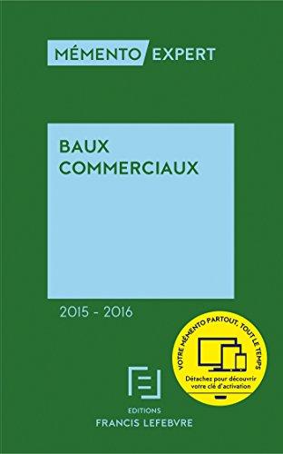 Mmento Baux commerciaux 2015-2016