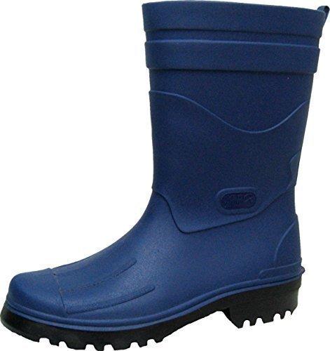 BOCKSTIEGEL® DIRK Uomo - Stivali di gomma di alta qualità (Taglie: 40-48), Colori:Dk-Blue/Black;Dimensioni:46