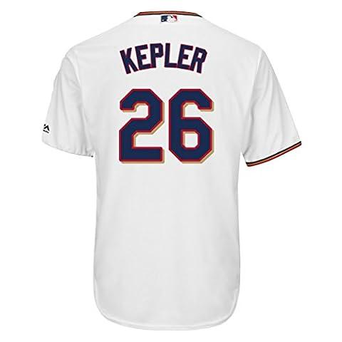 Majestic Max Kepler #26 Minnesota Twins Cool Base MLB Trikot Home Weiß XL