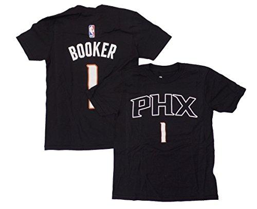Outerstuff Devin Booker Phoenix Suns Jugend Schwarz Name und Nummer Spieler T-Shirt, Jungen, schwarz, Youth X-Large 18/20 -