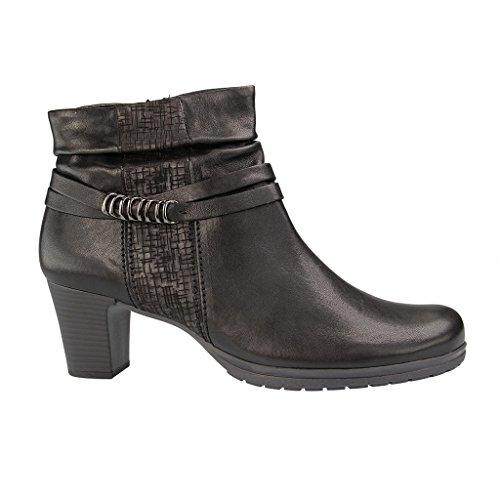 Gabor Damen Comfort Fashion-52.981 Kurzschaft Stiefel Schwarz