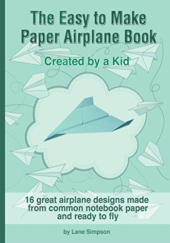 The Easy to Make Paper Airplane Book (English Edition)
