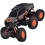 Toyshine 6 Wheel Rock Crawler Remote Control Car, Monster Tuck, Rechargeable, Assorted Color