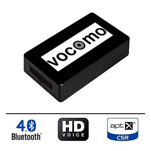 VOCOMO kX-1 Kit Mains Libres Bluetooth pour BMW Série 1 (E81,E82,E87,E88), Série 3 (E90,E91,E92,E93), 5/6 (E60,E61,E63,E64), Z4 (E89), X1 (E84), X5/6 (E70,E71), Mini (R55,R56,R57,R58,R59,R60,R61)
