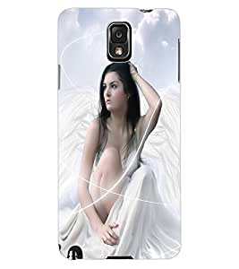 ColourCraft Beautiful Angel Design Back Case Cover for SAMSUNG GALAXY NOTE 3