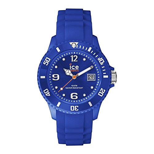 ICE-Watch SIDAZSS - Reloj de cuarzo unisex, con correa de silicona, color azul