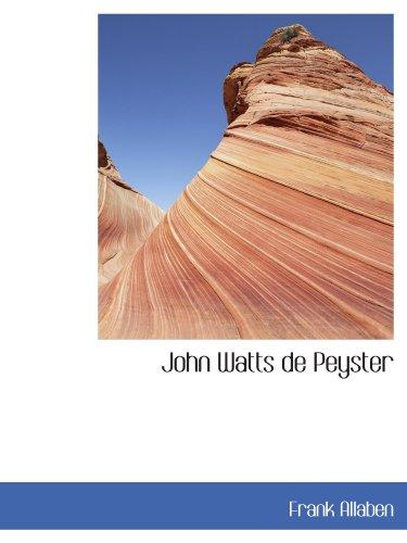 John Watts de Peyster