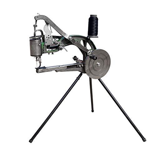 TOPQSC Zapato de la máquina de coser de la mano de la máquina de coser a mano nylon de algodón dual para herramientas zapatos, impermeables, cuero
