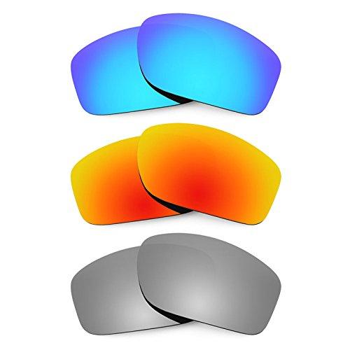 Revant Ersatzlinsen für Oakley Valve Polarisiert 3 Paar Kombipack K014