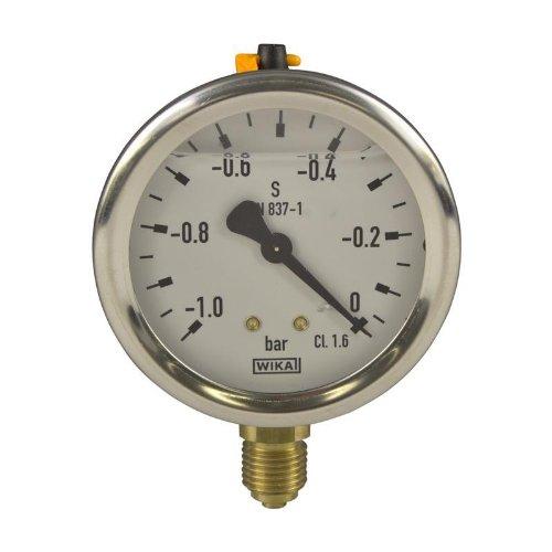 Manometer, NG63, -1-0 bar - WIKA 213.53 - 9021876 -