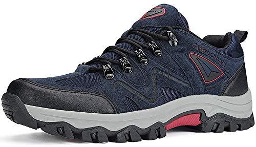 CAMEL CROWN Zapatos de Senderismo para Hombre Antideslizante Botas de Montaña Zapatos de Trekking Deportes...