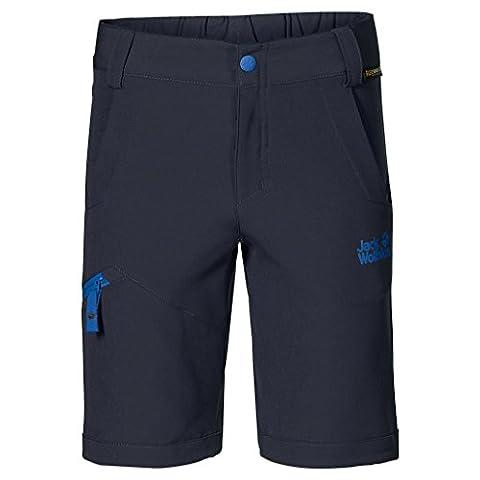 Jack Wolfskin Kinder Shorts Activate Softshell K, Night Blue, 140, 1605021-1010140